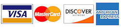 Commercial Retail Repair Services Accepts All Major Credit Cards